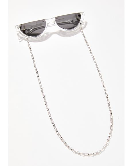 Givin' Side Eyes Glasses Chain