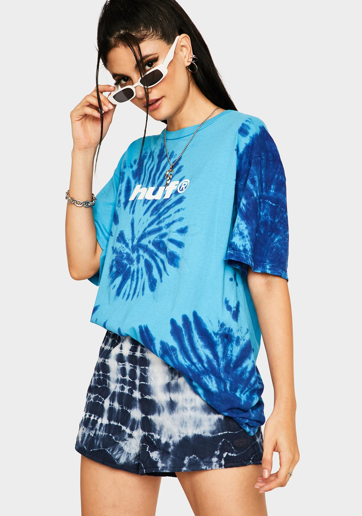 HUF Pacific Blue Viral Graphic Tee