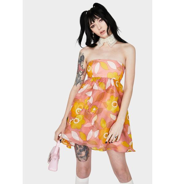Selkie Woodstock Cupcake Mini Dress