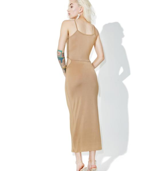 Glamorous Gobi Cutout Maxi Dress
