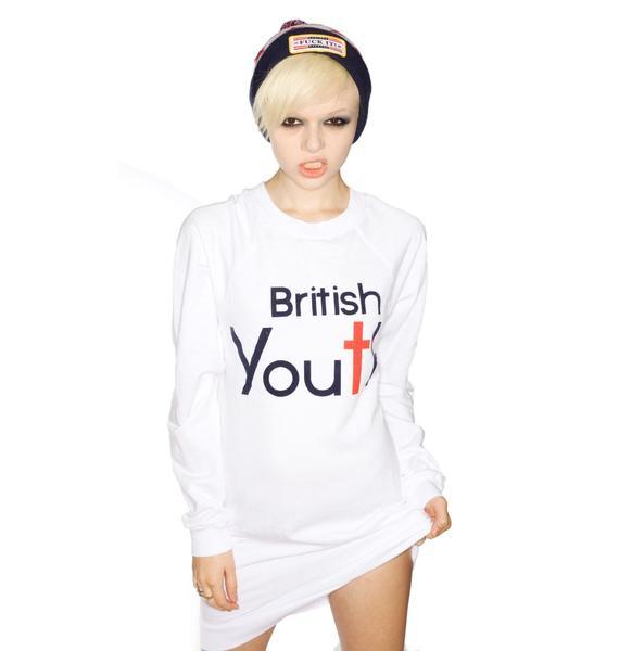 Wildfox Couture British Youth Night Hike Dress