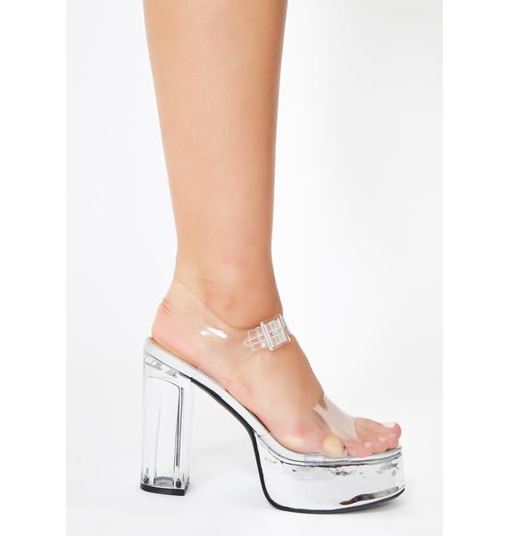 Poster Grl I Want It All Clear Heels