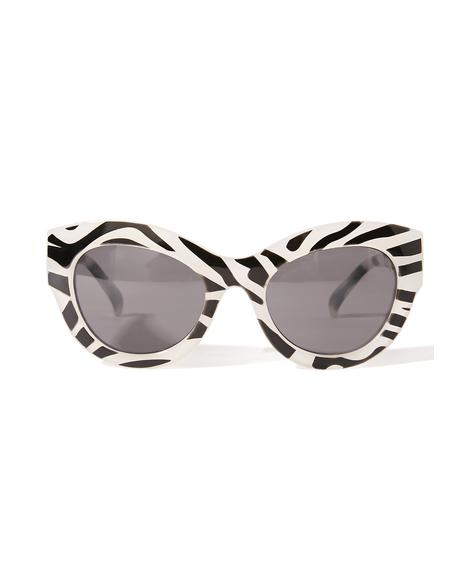 Zebra Vicious Sunglasses