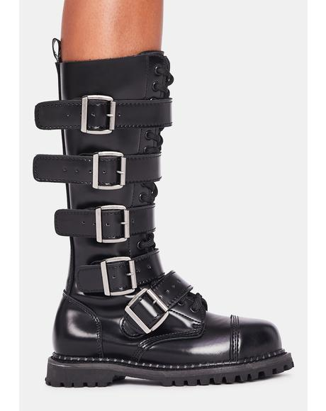 Riot Buckle Boots