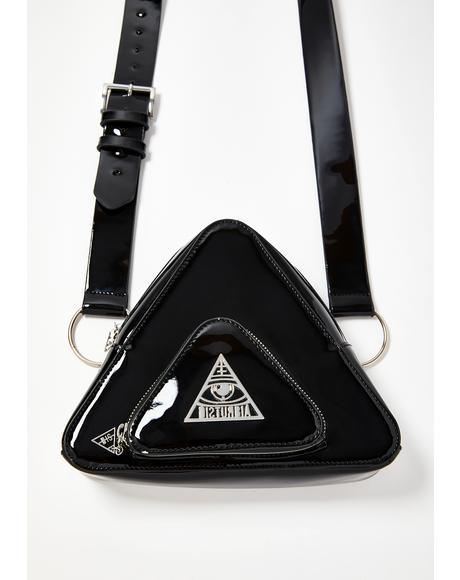 Ternary Patent Crossbody Bag