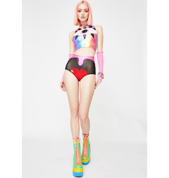 J Valentine Loudmouth Hot Shorts