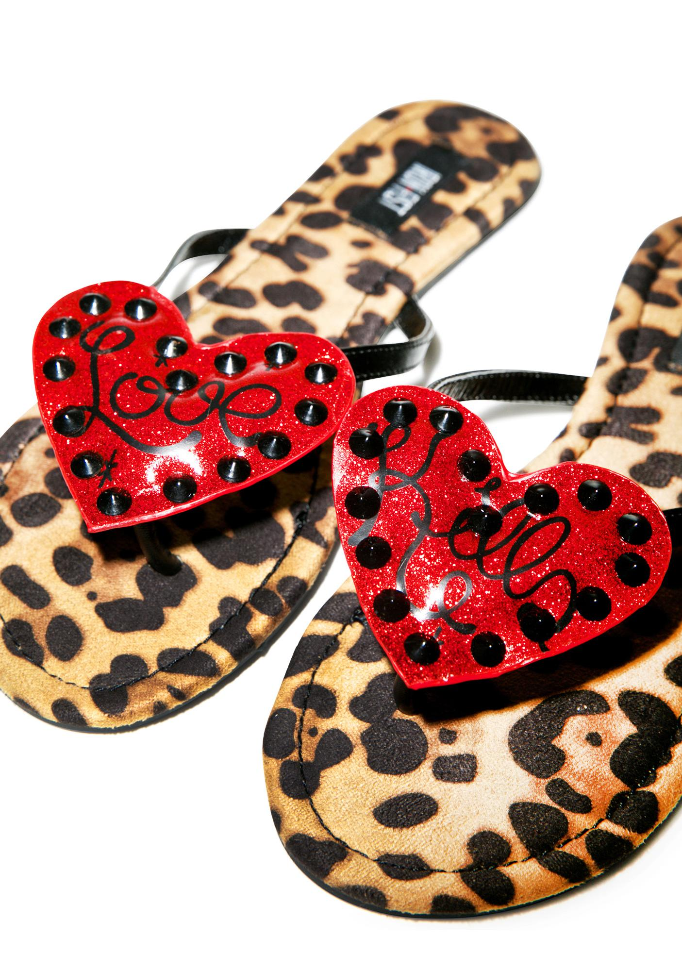 Iron Fist Lovecat Sandals