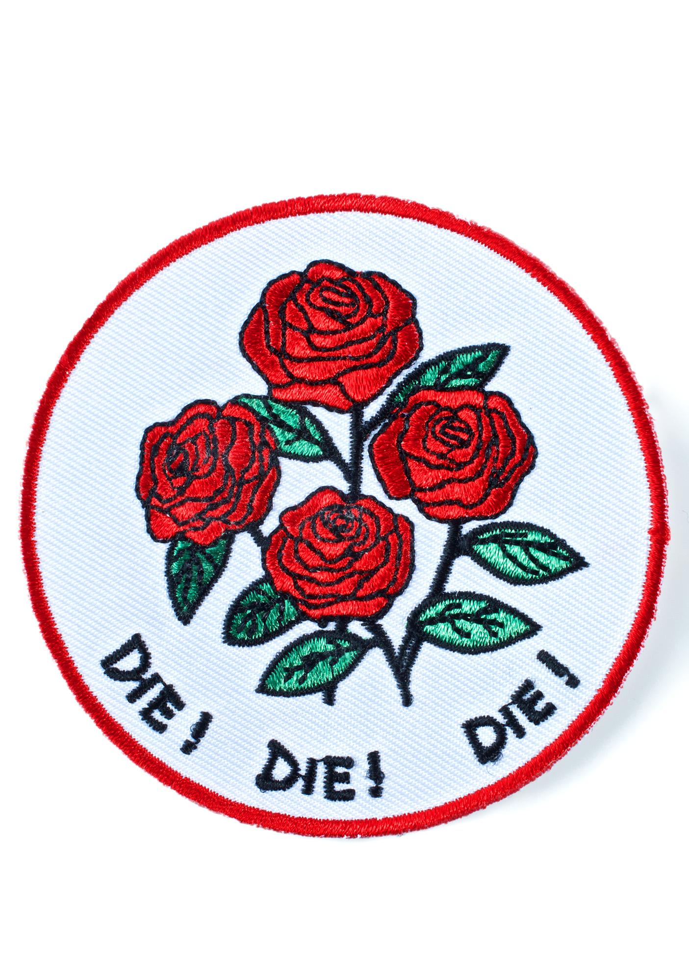 Creepy Gals Die Die Die Patch