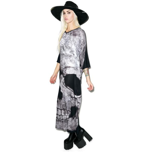 Killstar Skull Boho Dress