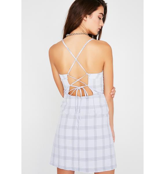 Summertime Sadness Plaid Dress