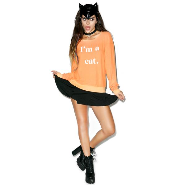 Wildfox Couture Guess What I Am Baggy Beach Jumper
