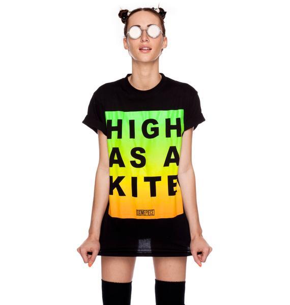 Dimepiece High As A Kite Crew Neck Tee