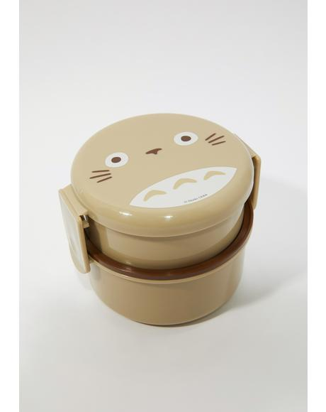 Totoro Two Tier Bento Box