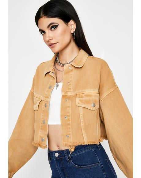 Snap A Selfie Denim Jacket