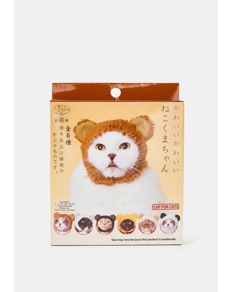 Fuzzy Wuzzy Cat Cap Mystery Box