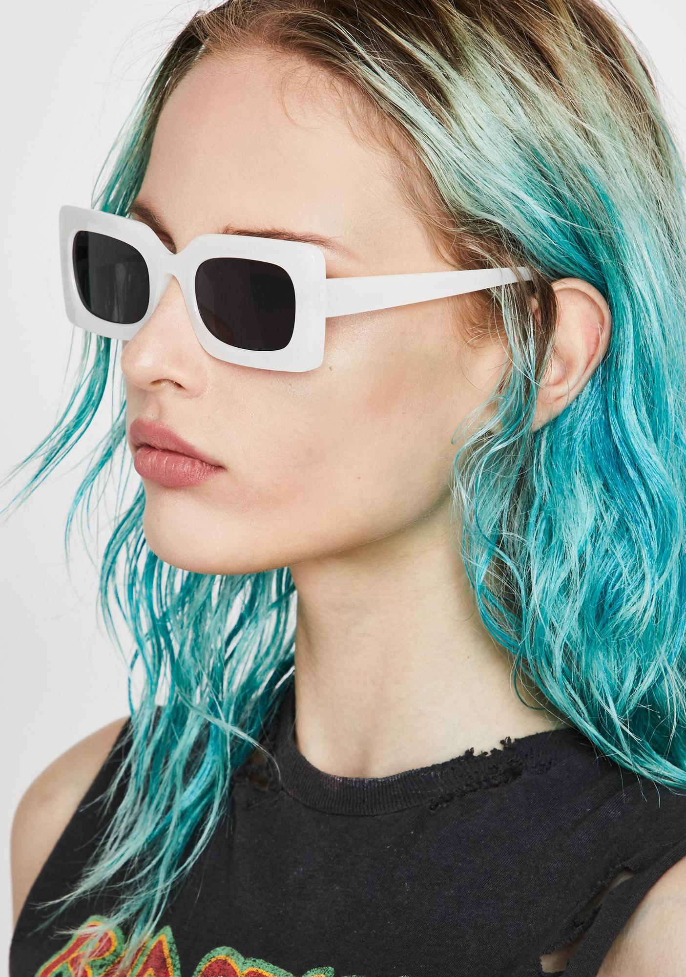 Saint Posh Status Square Sunglasses