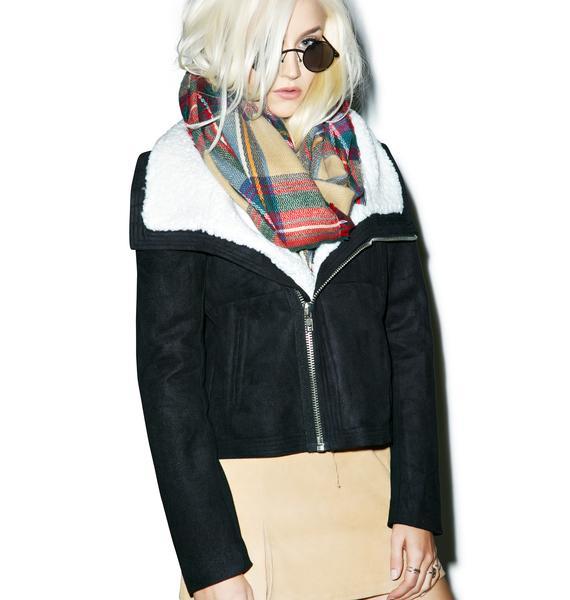 BLQ BASIQ Moto Jacket