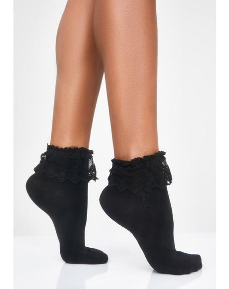 Spoiled Rotten Ruffle Socks
