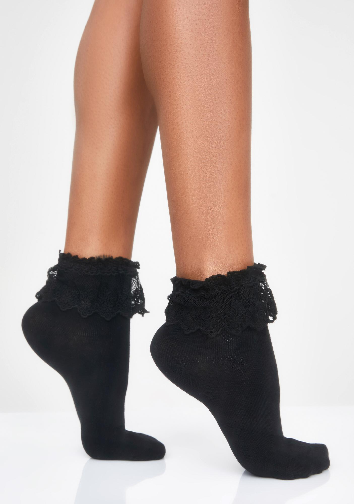 exquisite style undefeated x buy best Spoiled Rotten Ruffle Socks