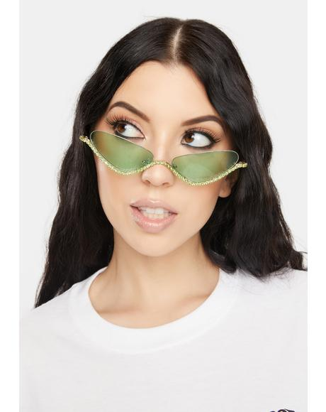 Cash Purrrfect Shine Cat Eye Sunglasses