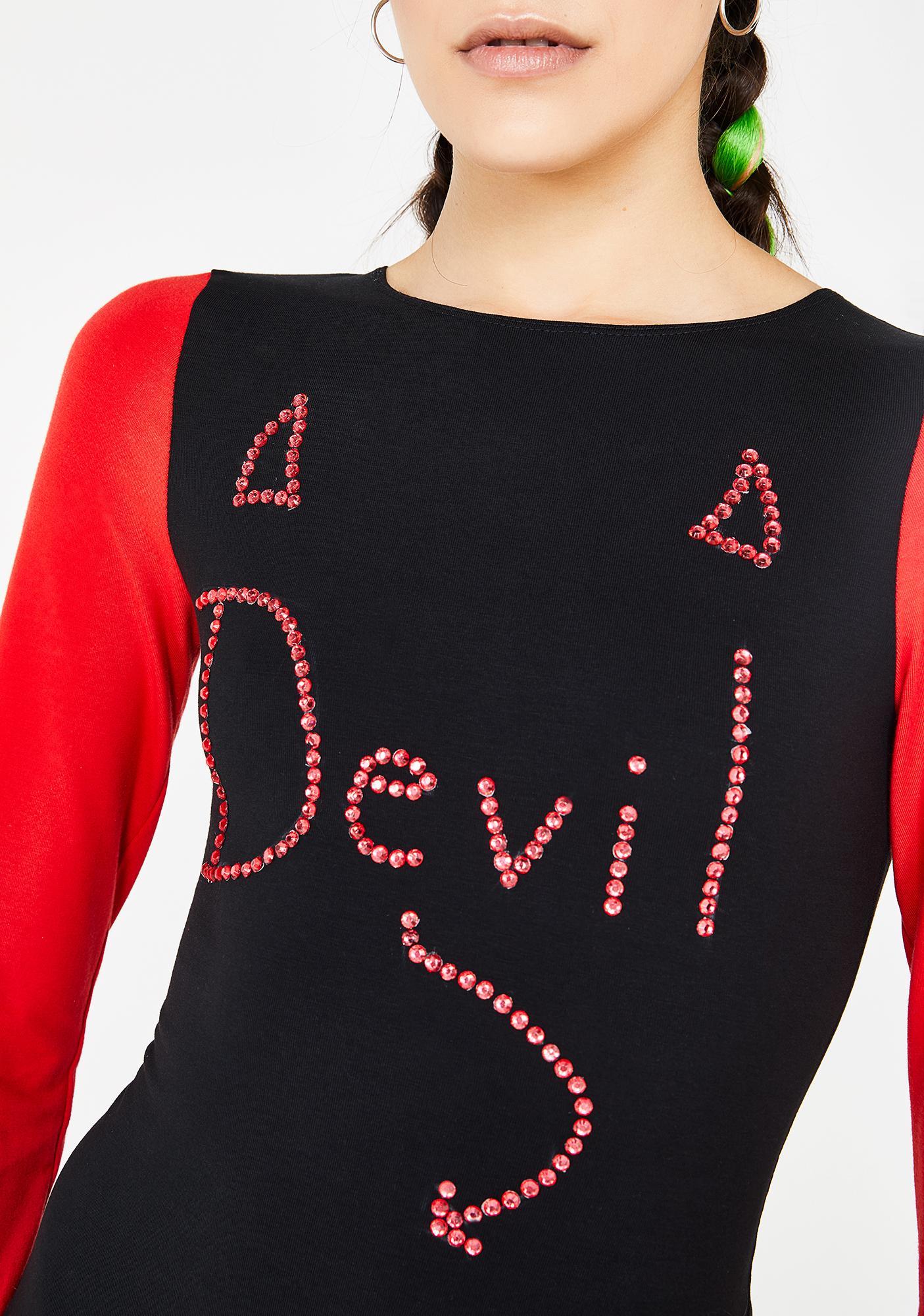 Ivy Berlin Devils Advocate Dress