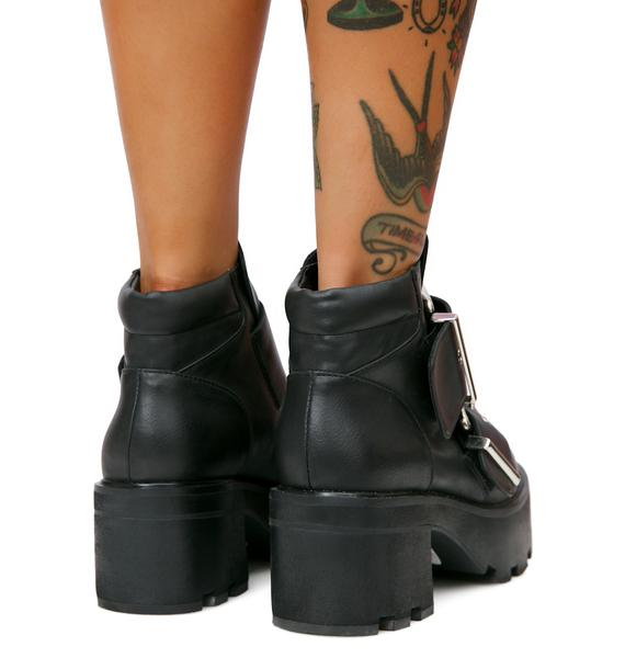 Current Mood Industrial Ankle Boots