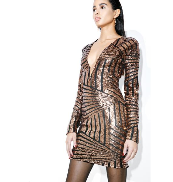 Lifeline Sequin Mini Dress