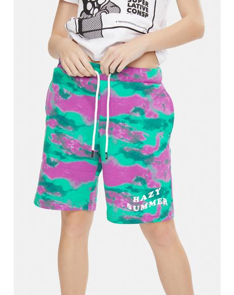 Marty Hazy Summer Tie Dye Shorts
