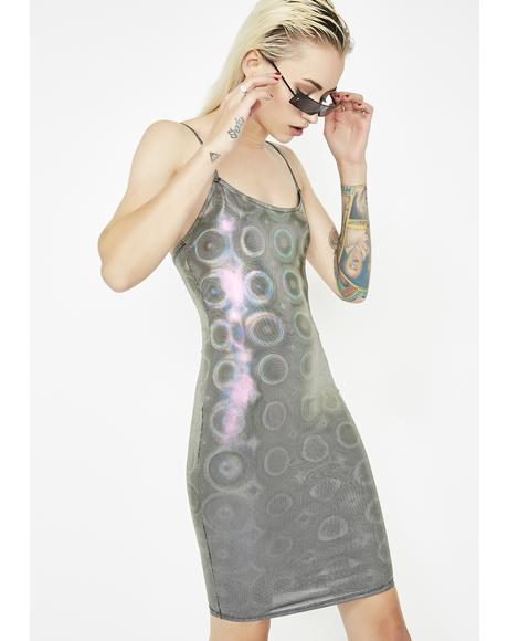 Drop The Bass Hologram Dress