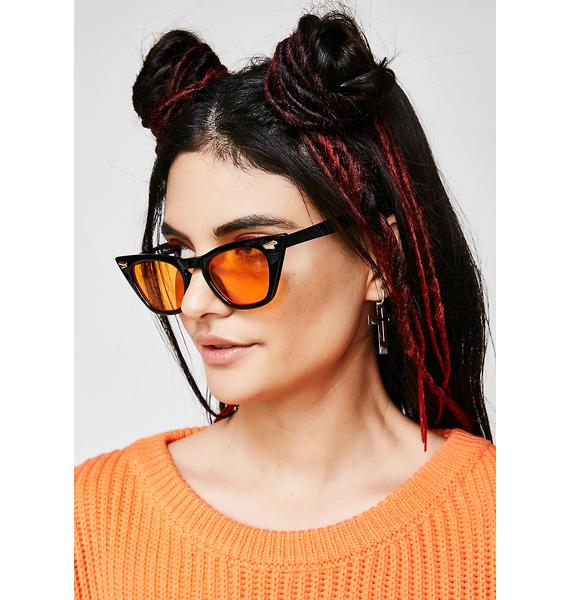 Down For It Cat Eye Sunglasses