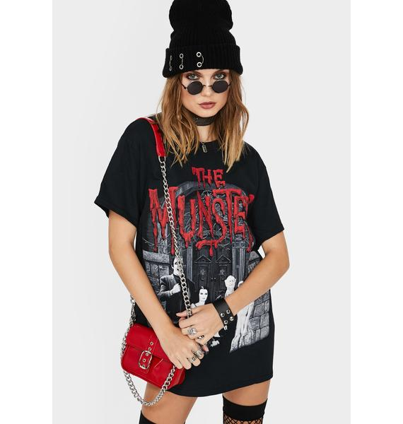 Rock Rebel Munsters Family Portrait Graphic Tee