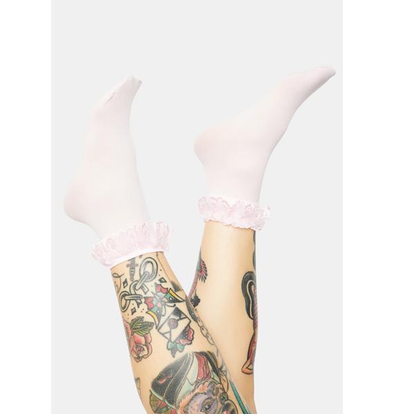 Baby Blushin' Ruffle Socks