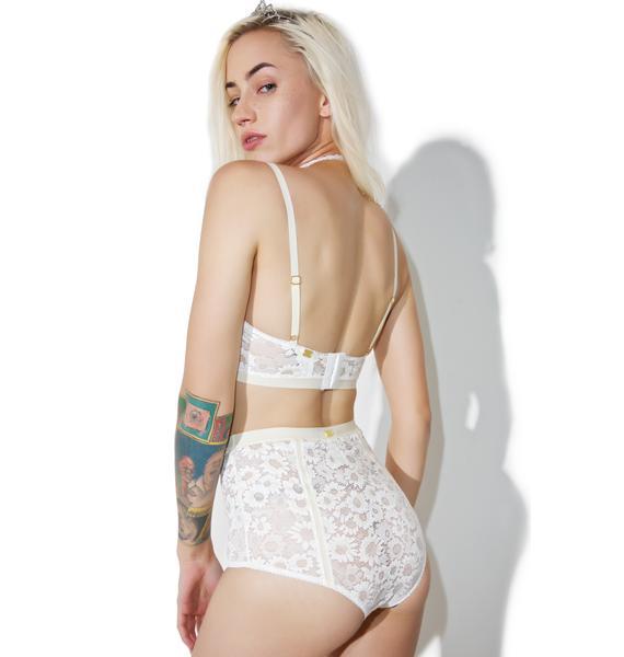 For Love & Lemons Daisy Hi-Waist Panty