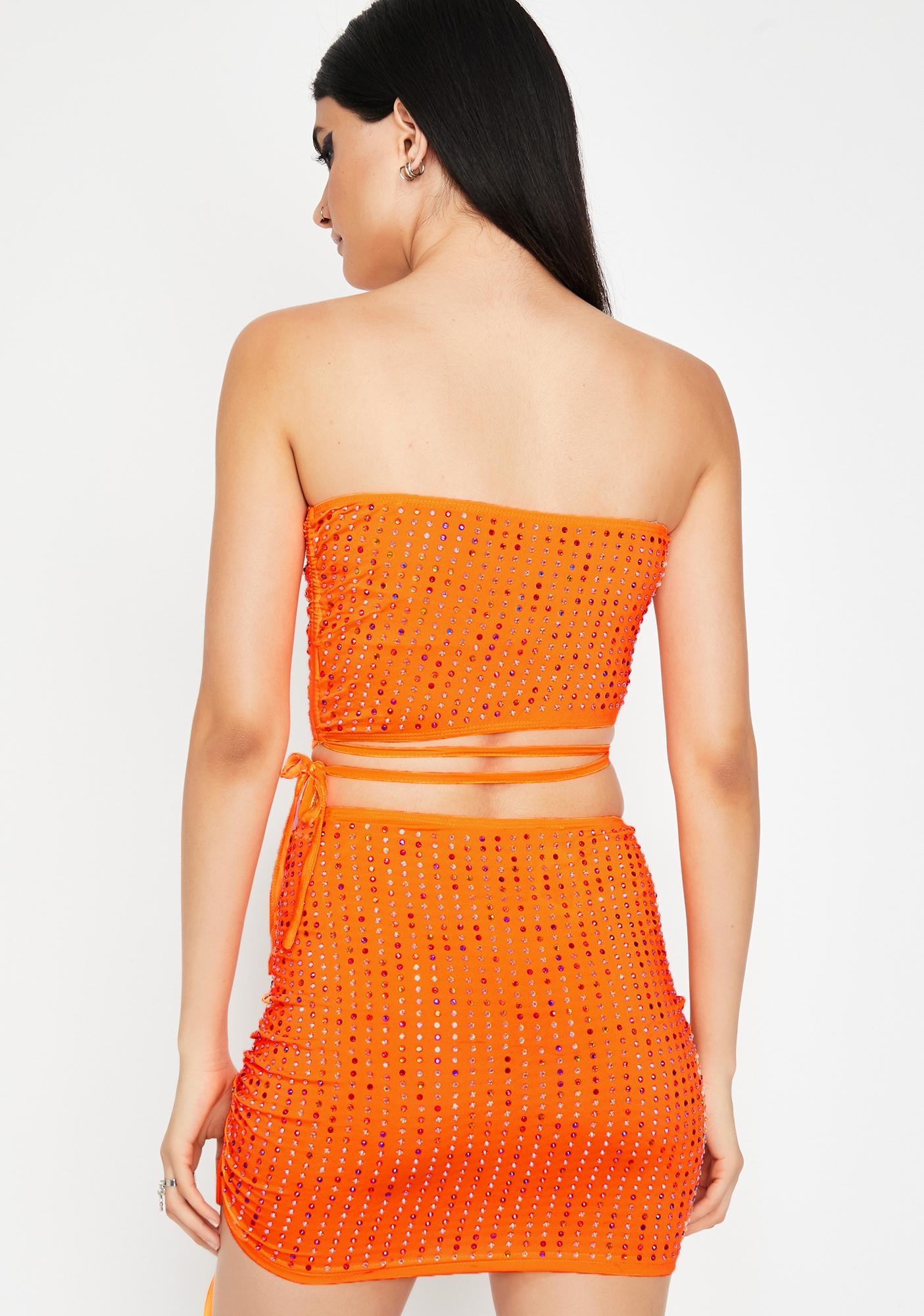 Infamous Illusion Skirt Set