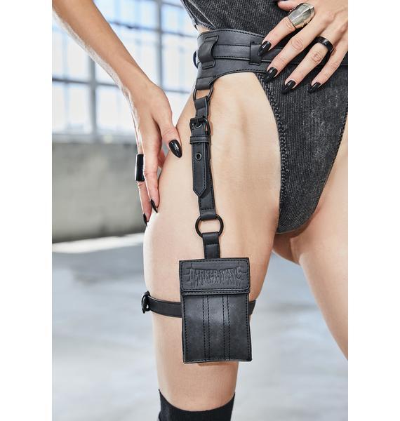DARKER WAVS Bassline Matte Utility Garter Bag