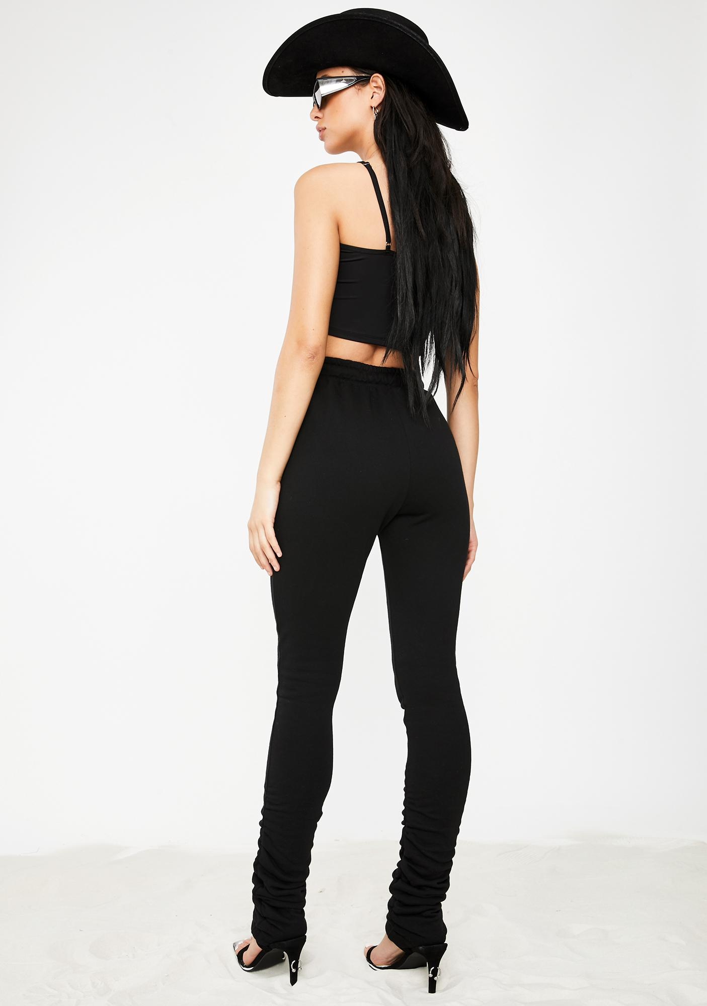 Poster Grl Link In Bio Ruched Joggers