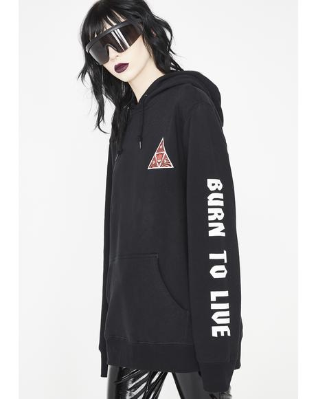 Spitfire Triangle Pullover Hoodie