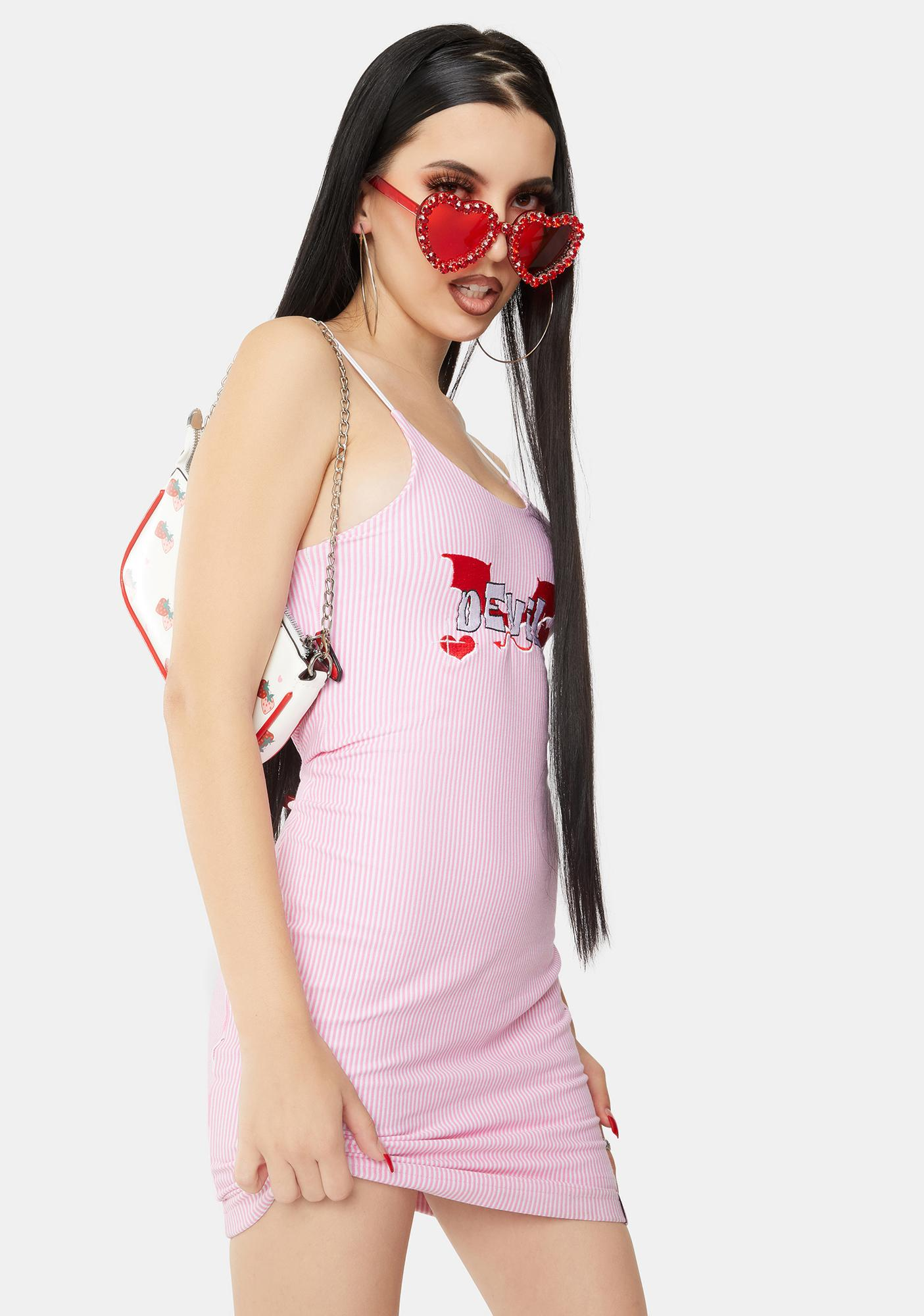 Cotton Candy Apparel Devil Mini Dress