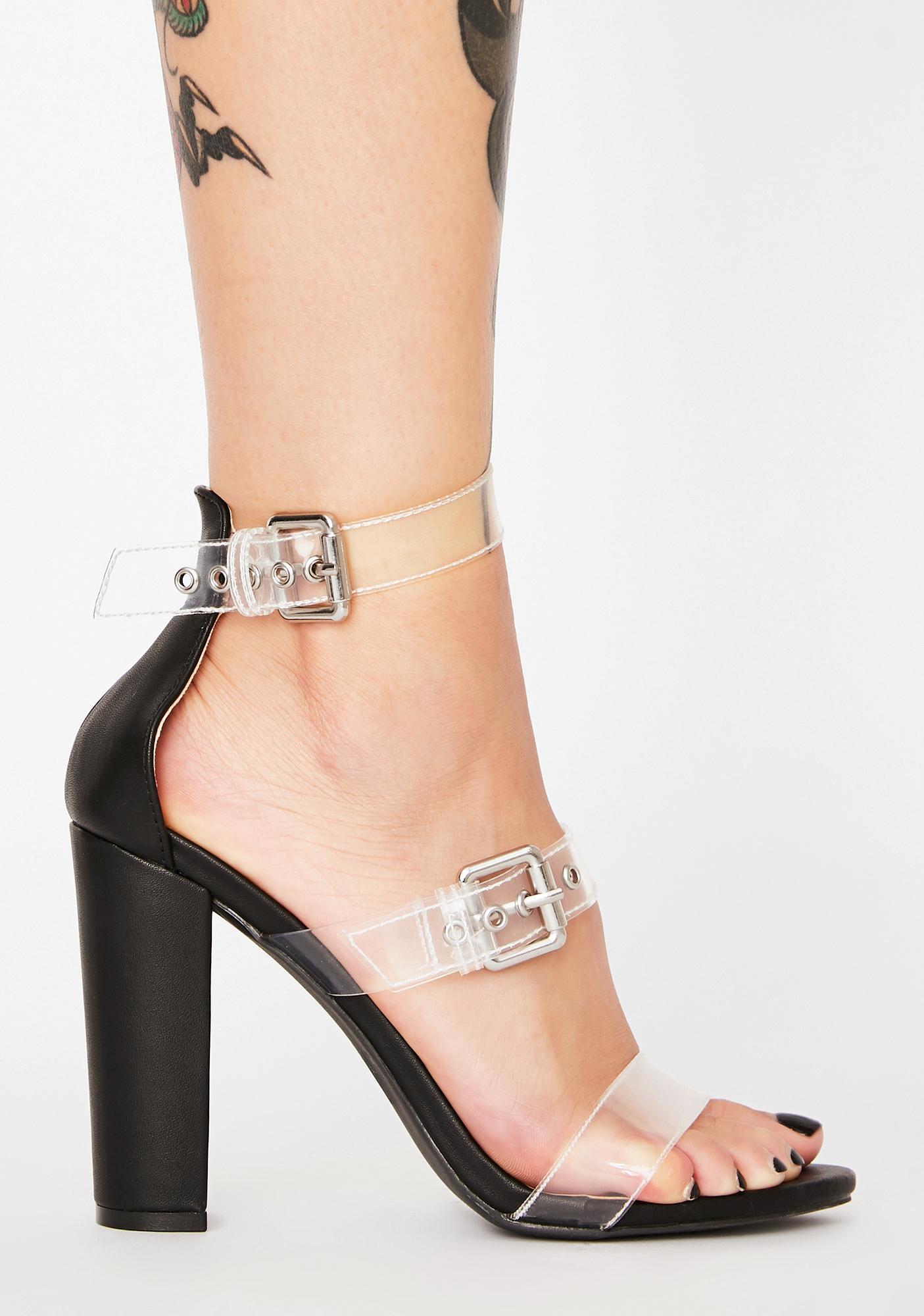 Always Stuntin' PVC Heels