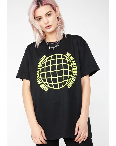 Globe Logo Tee