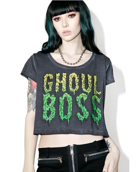 Ghoul Boss Crop Tee