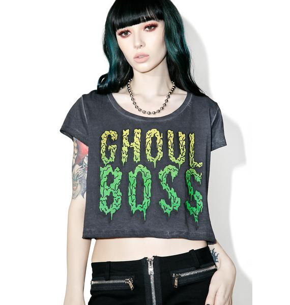 Iron Fist Ghoul Boss Crop Tee