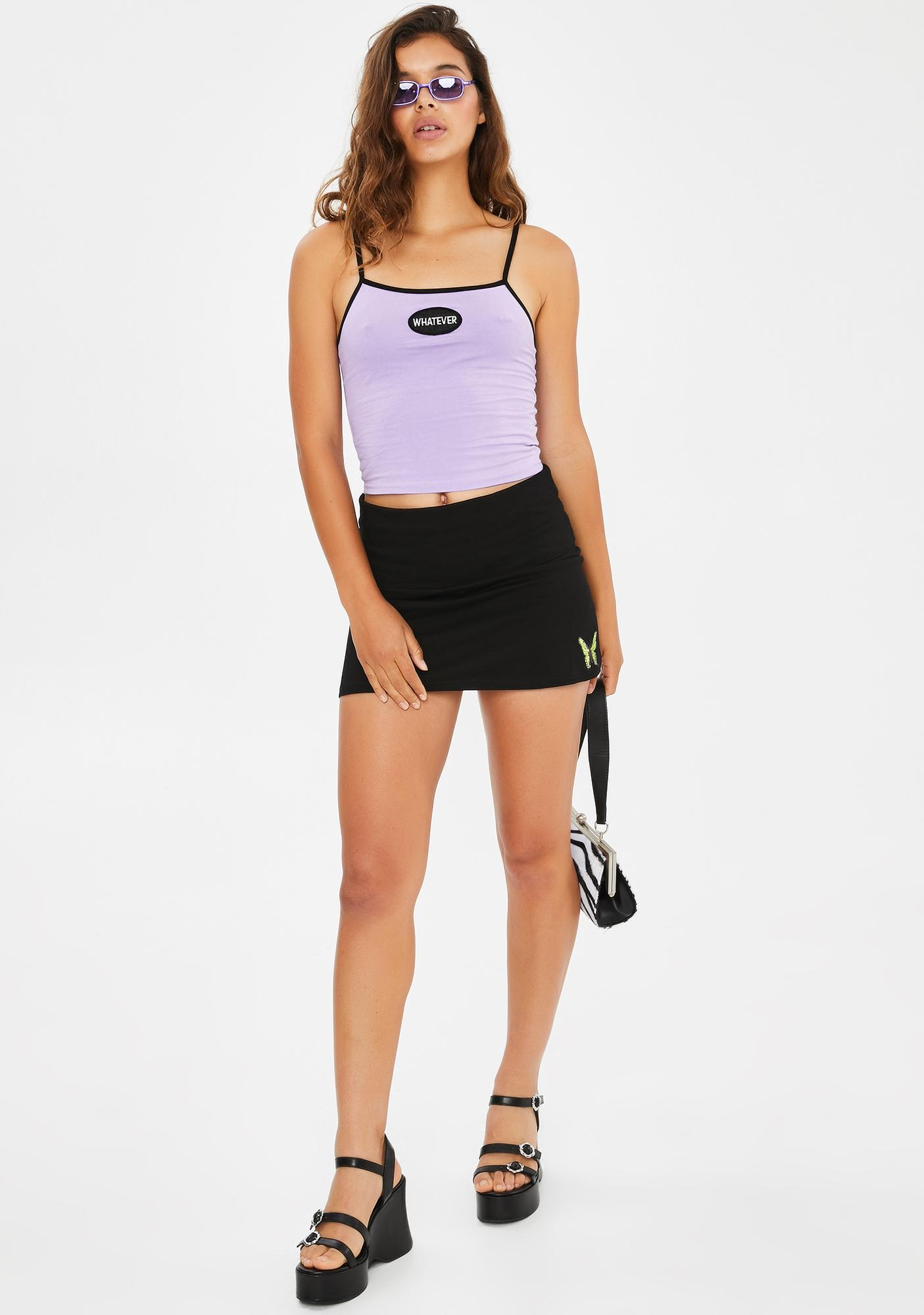 dELiA*s by Dolls Kill Whatever Forever Crop Tank
