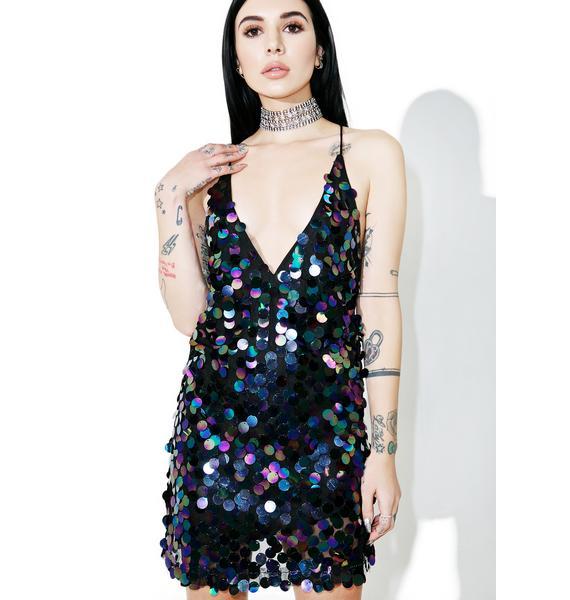 Motel Black Opal Finn Dress