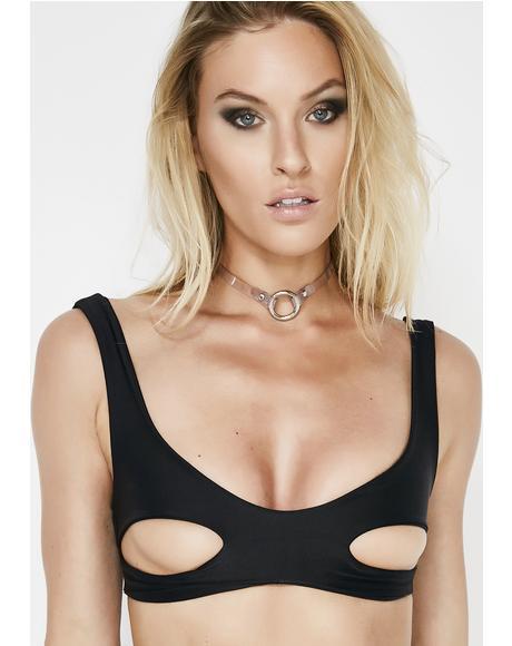 Underboob Bikini Top