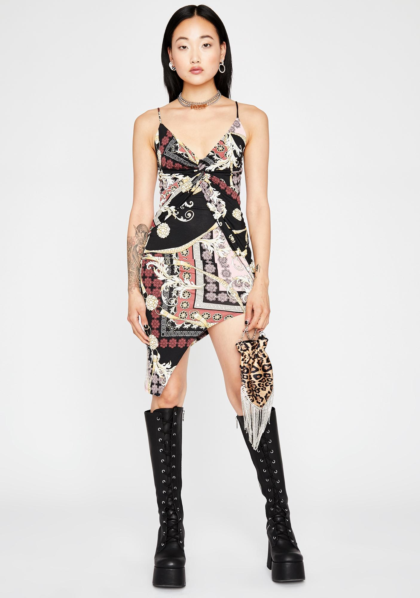 Desire For Designer Mini Dress