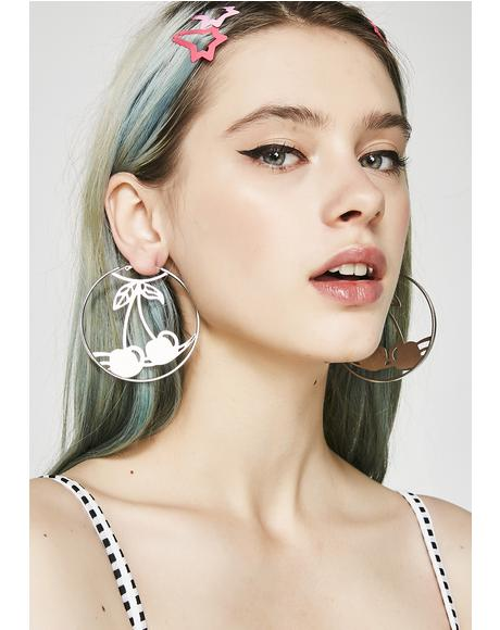Sweet N' Juicy Hoop Earrings