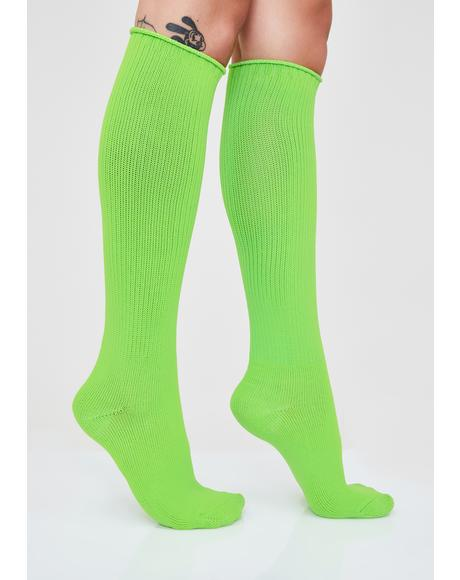 Plasma Pixie Knee High Socks