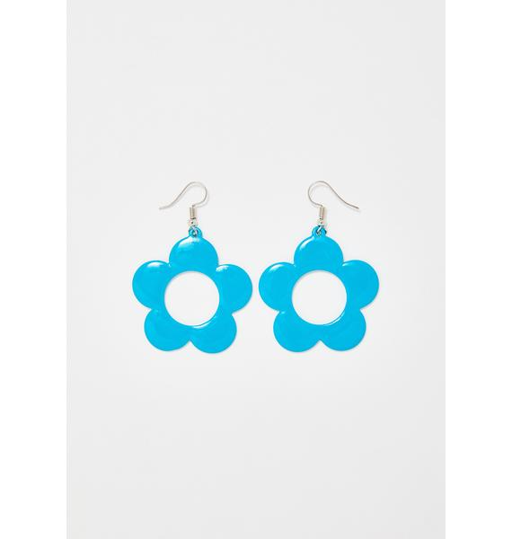 Hipster Chic Daisy Earrings