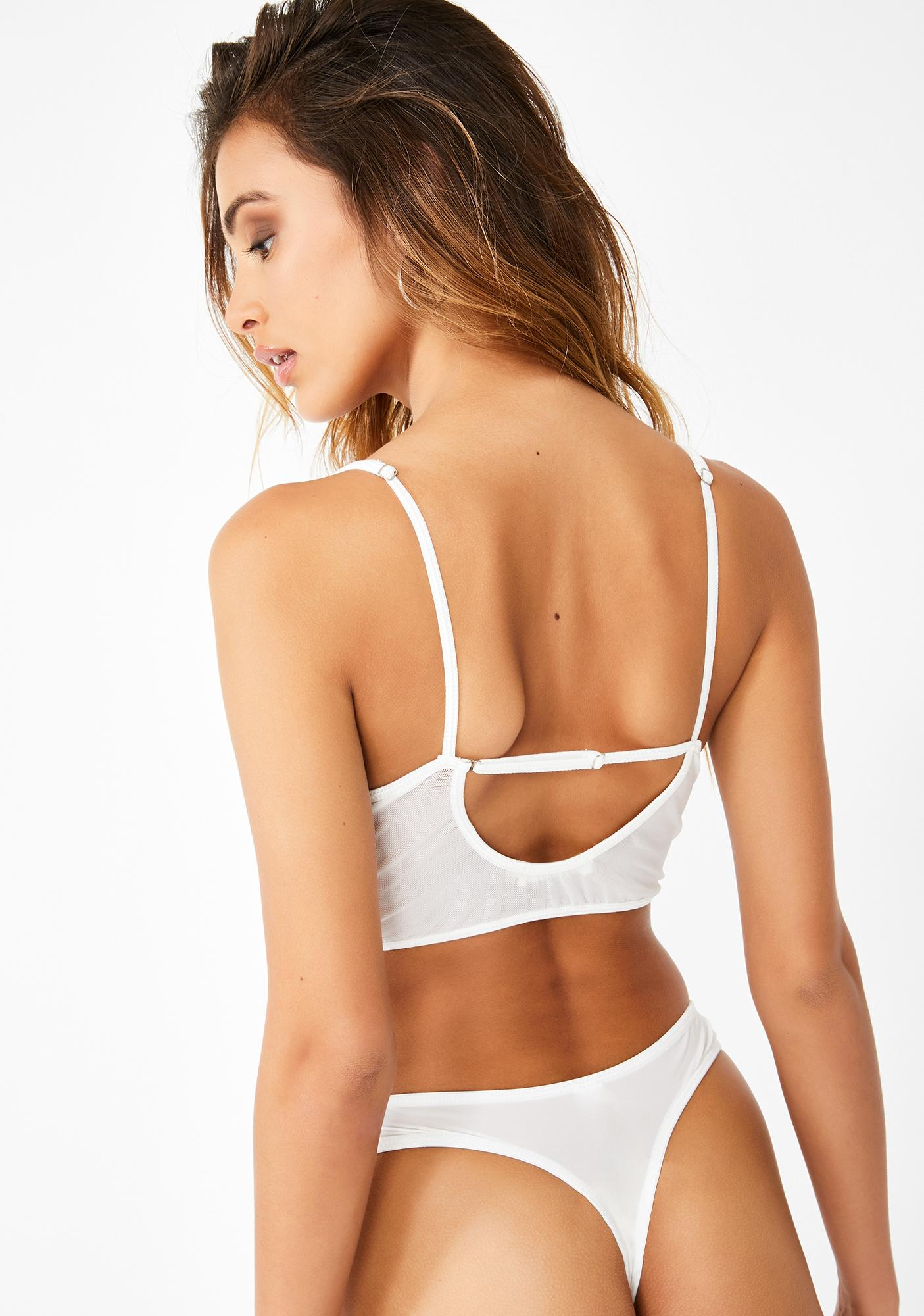 Fallin From Heaven Lace Thong